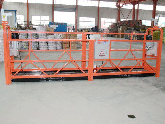 哈尔滨吊篮分享电动吊篮电焊时要注意哪些地方